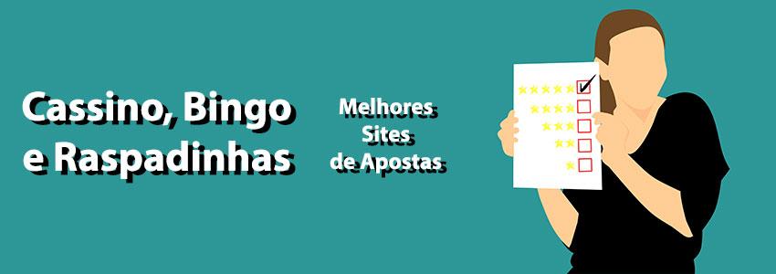 Melhores sites de apostas para cassino bingo raspadinha