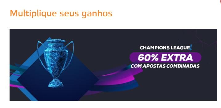 Bônus Liga dos Campeões - Betmotion