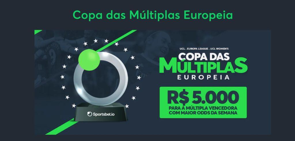 Copa das Múltiplas Europeia - Sportsbet.io