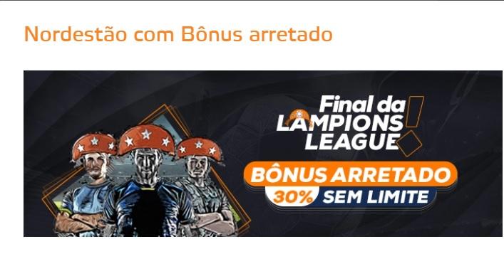 Betmotion Brasil - bônus final da Copa do Nordeste