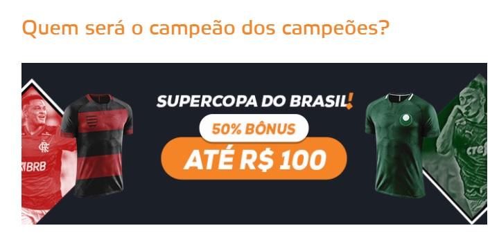 Betmotion Brasil bônus Supercopa do Brasil 2021