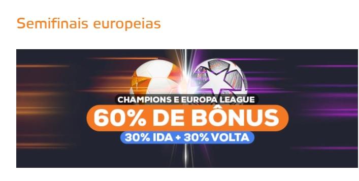 Betmotion Brasil - bônus Champions League e Europa League