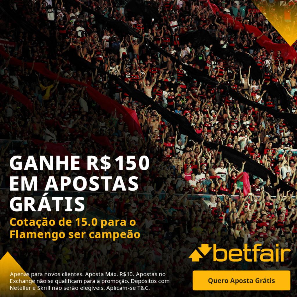 Betfair Super Preço - Flamengo x Palmeiras