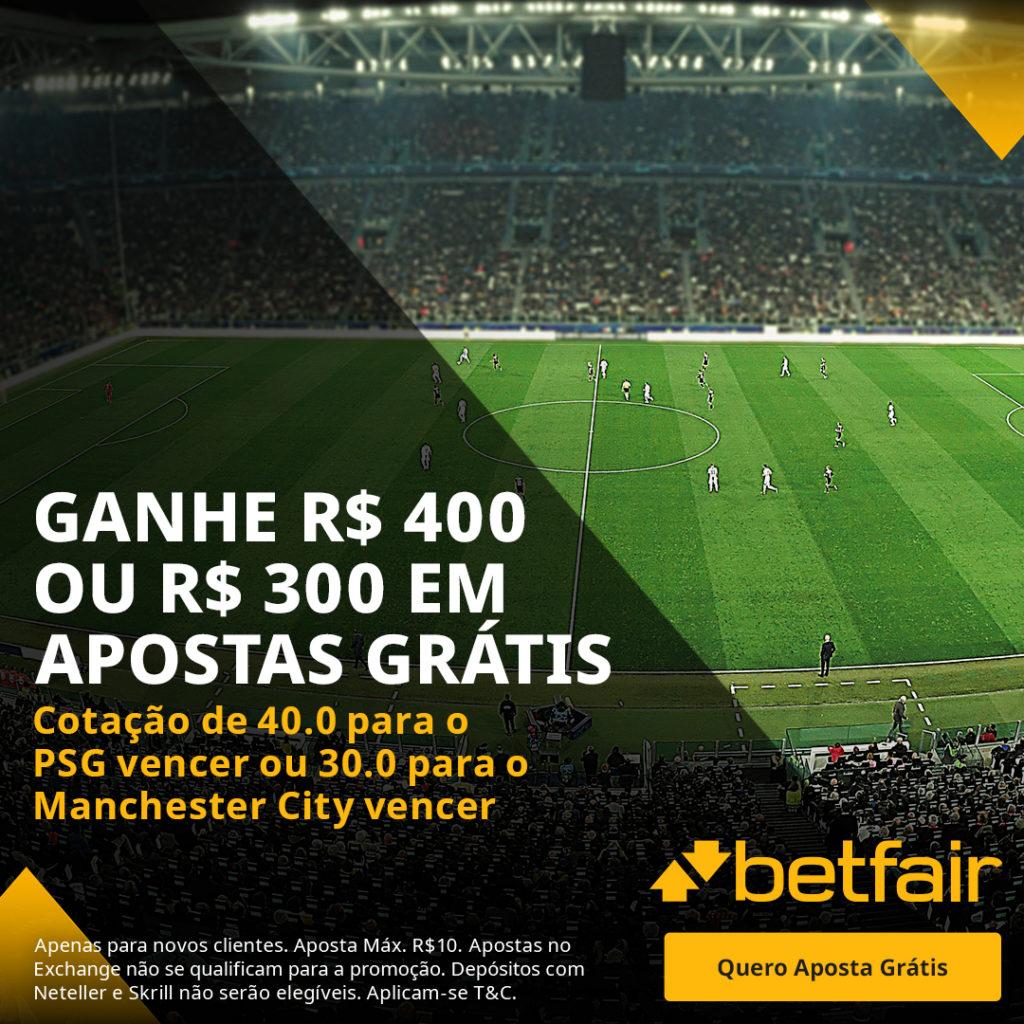 Betfair Super Preço - PSG x City