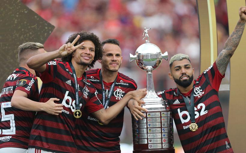 Campeões da libertadores Flamengo