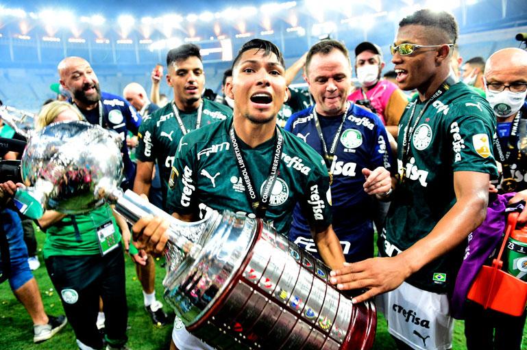 Campeões da libertadores Palmeiras