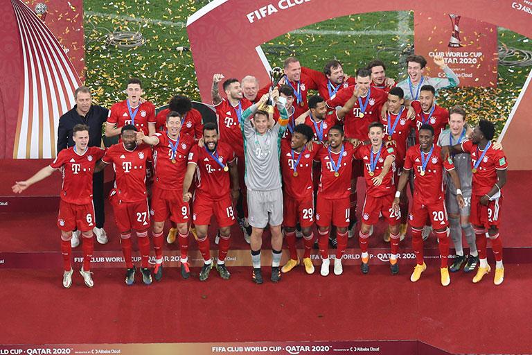 Campeões mundiais Bayern de Munique