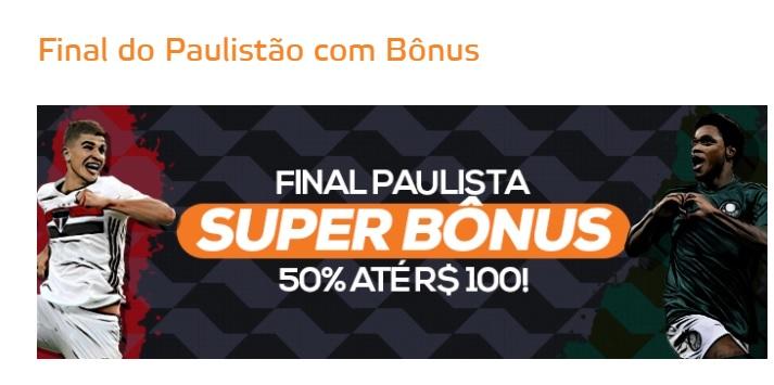 Betmotion Brasil - Final do Paulistão 2021 com bônus