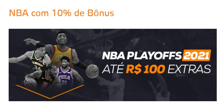 Betmotion Brasil - Bônus Playoffs NBA