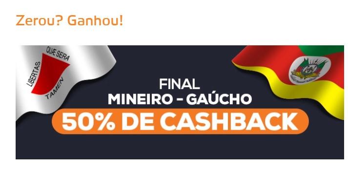 Betmotion Brasil - cashback finais do Campeonato Mineiro e Campeonato Gaúcho