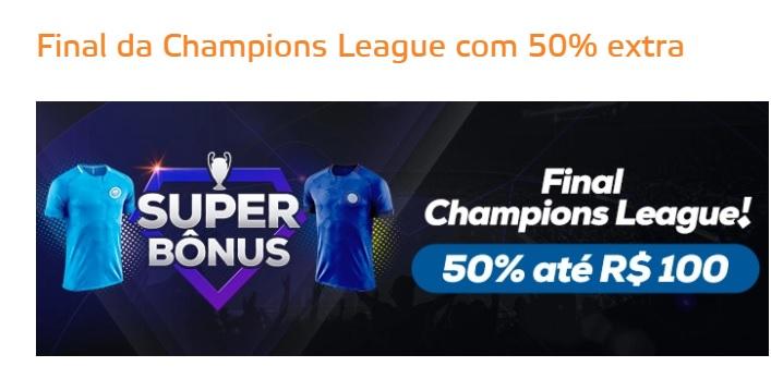 Betmotion Brasil - Final da Champions League com bônus