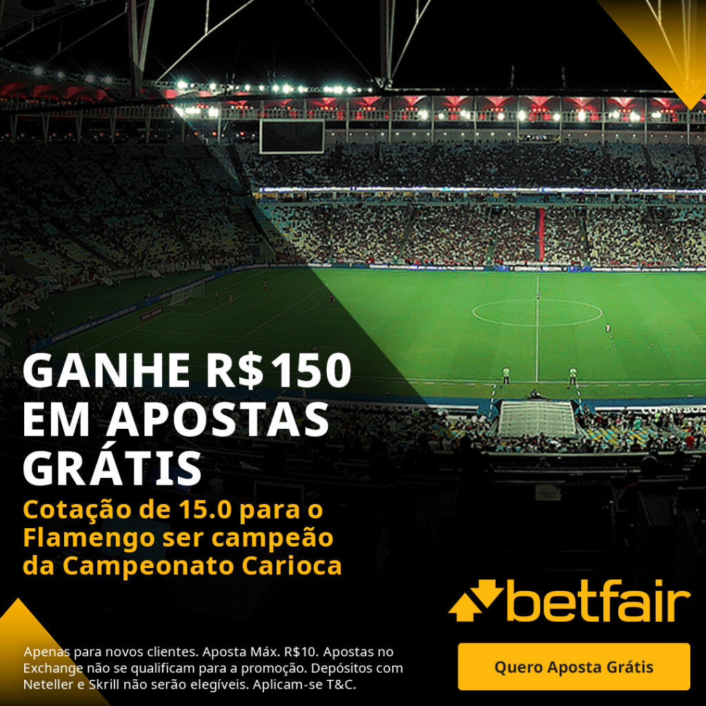 Betfair Super Preço - Flamengo campeão do Campeonato Carioca 2021