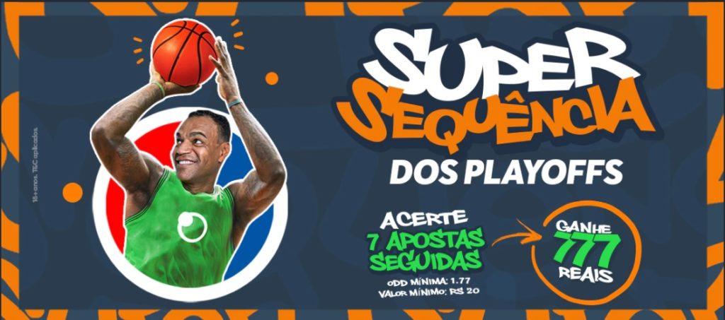Sportsbet.io Brasil - Super Sequência Playoffs NBA
