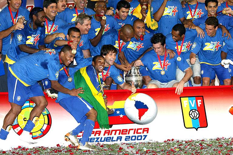 Curiosidade Copa América Troféu