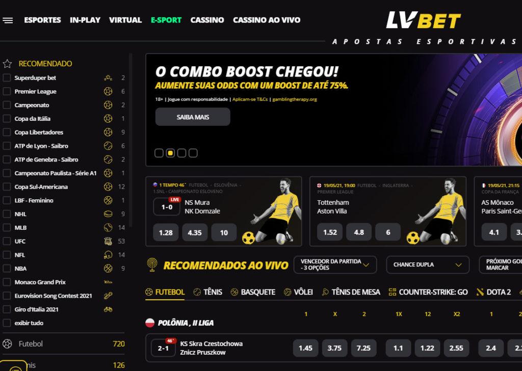 LVBet Website