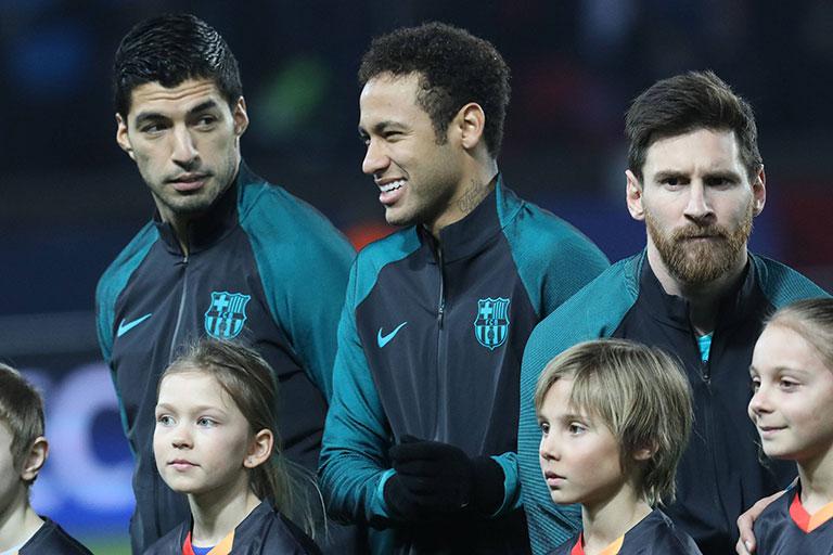 Neymar Gols Trio MSN