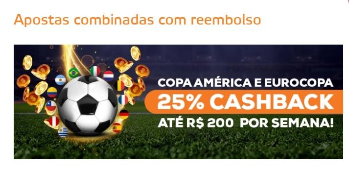 Betmotion Brasil - cashback Copa América e Eurocopa
