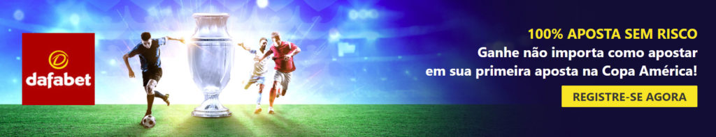 Promoção Dafabet Copa América