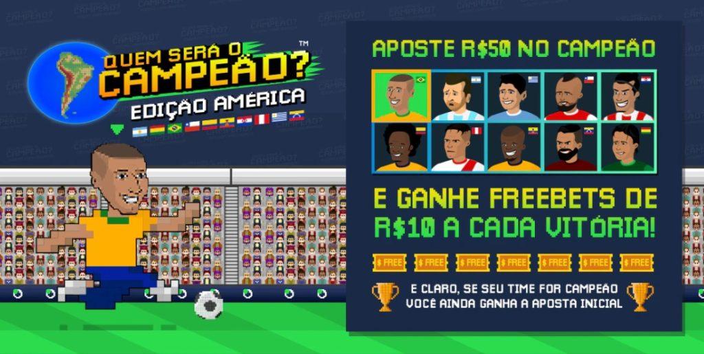 Sportsbet.io - campeão Copa América