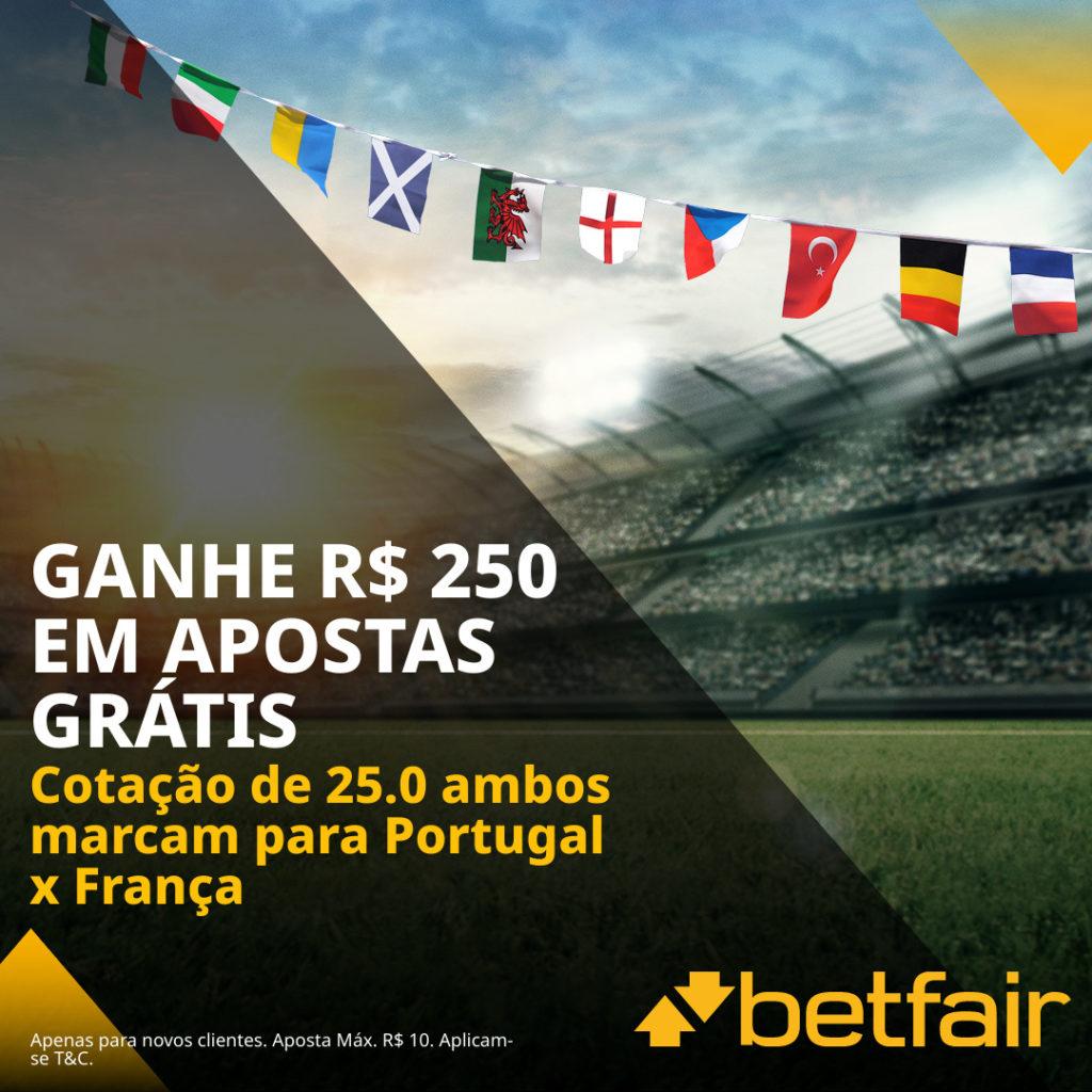 Betfair Super Preço - Portugal x França