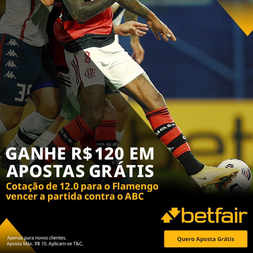 Betfair Super Preço - Flamengo x ABC