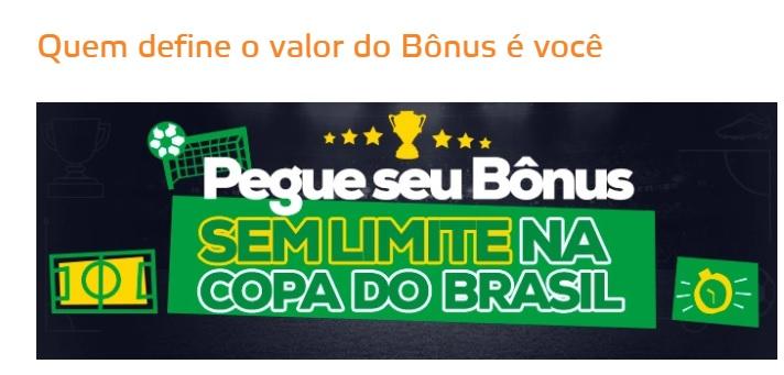 Betmotion Brasil - bônus de 30% sem limite na Copa do Brasil