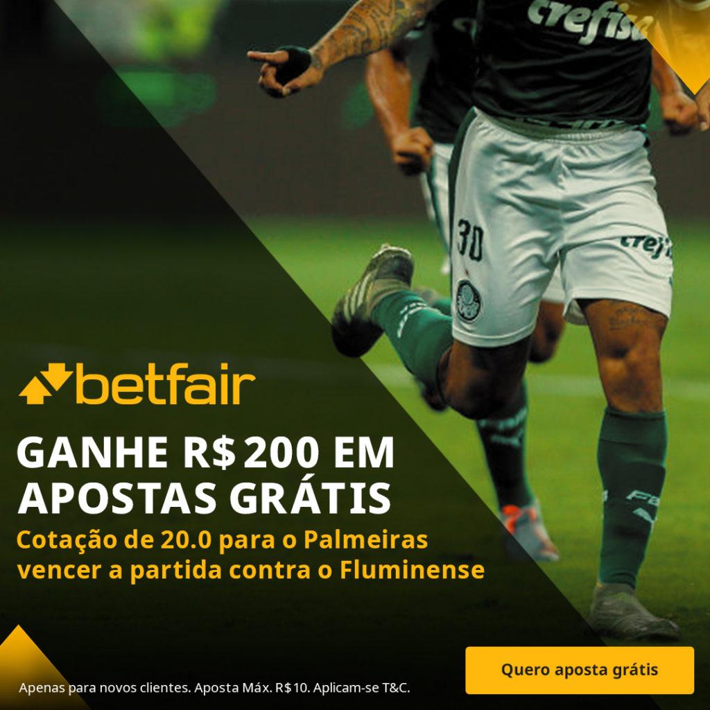 Betfair Super Preço - Palmeiras x Fluminense
