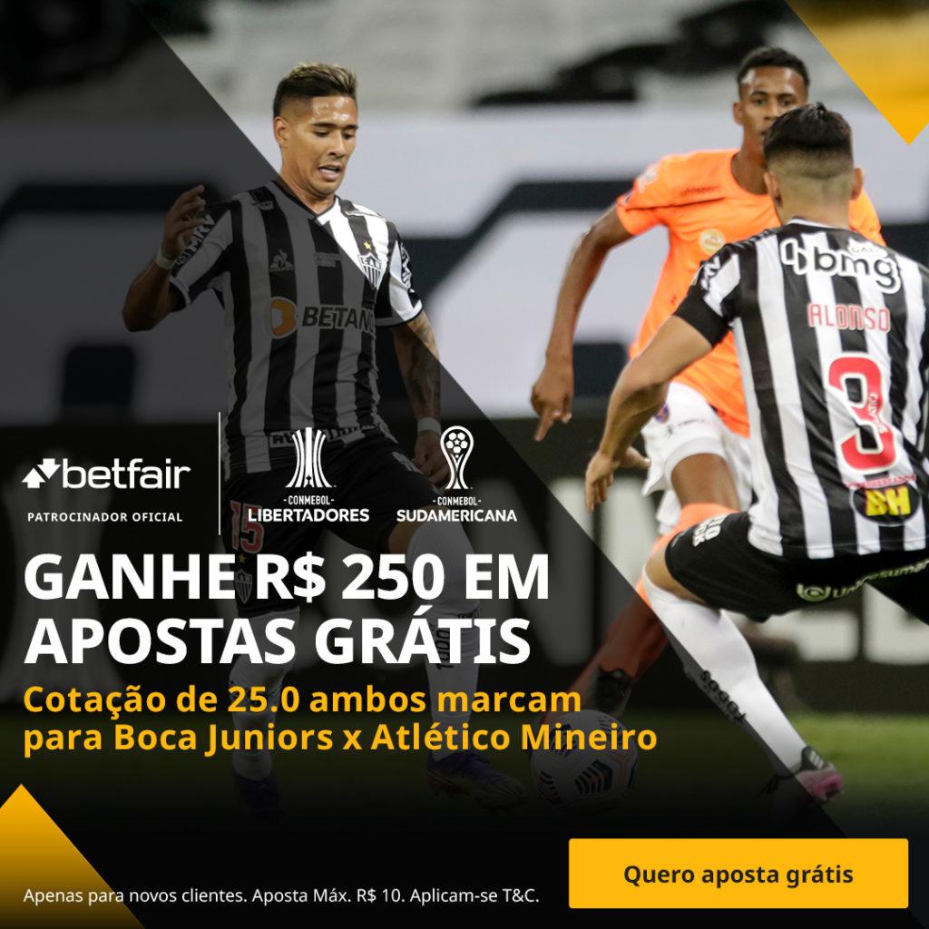 Betfair Super Preço - Boca Juniors x Atlético-MG