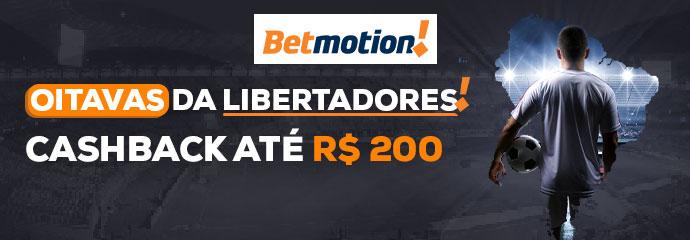 Promocao Betmotion Libertadores