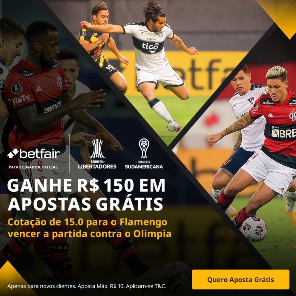 Betfair Super Preço - Flamengo x Olimpia