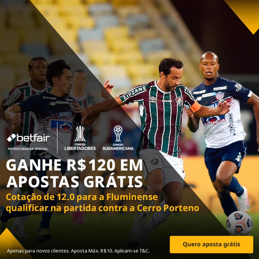 Betfair Super Preço - Fluminense x Cerro Porteño