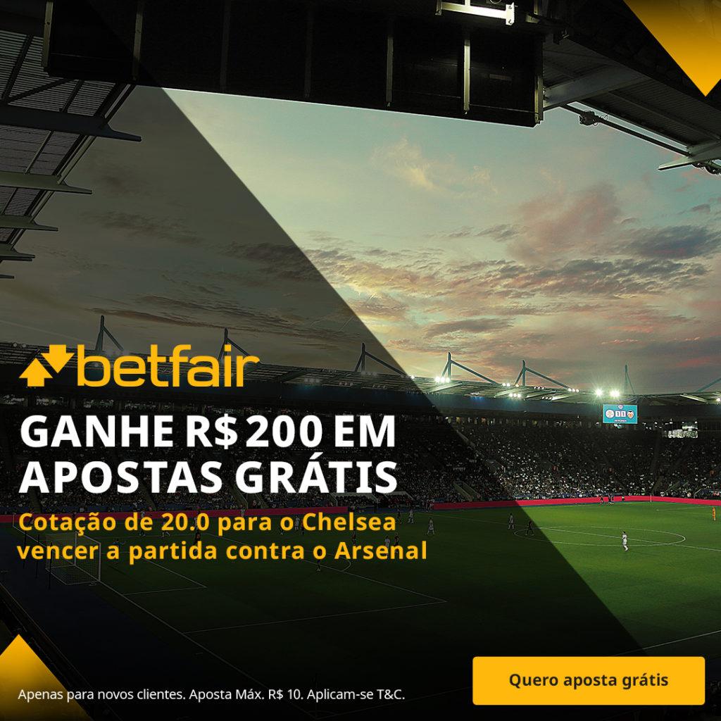 Betfair Super Preço - Arsenal x Chelsea