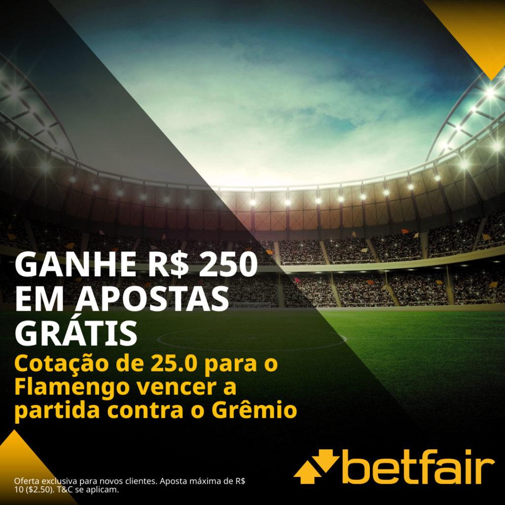 Betfair Super Preço - Grêmio x Flamengo