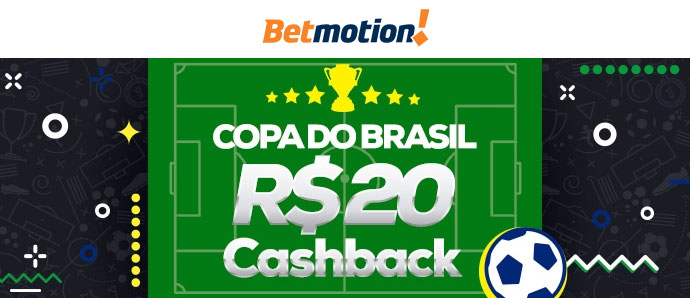 Promoção Betmotion Copa do Brasil