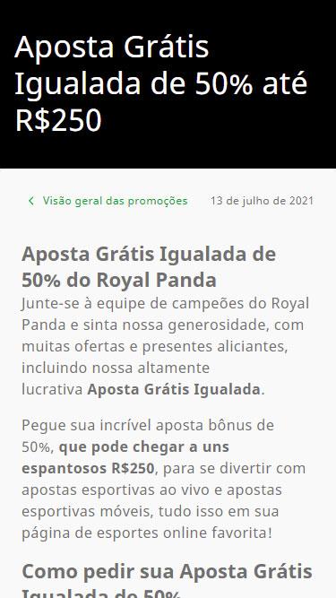 Royal Panda Promoções