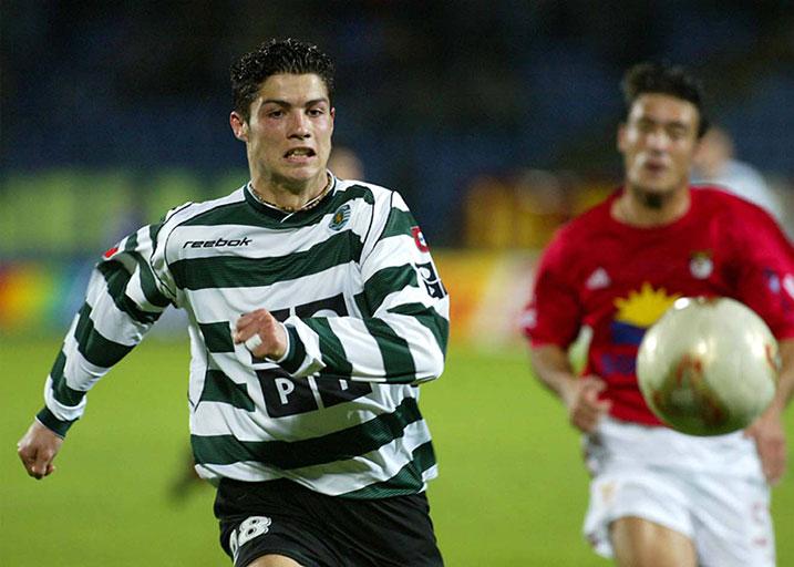 Cristiano Ronaldo Gols Sporting