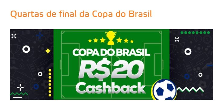 Betmotion Brasil - Cashback R$20 na Copa do Brasil