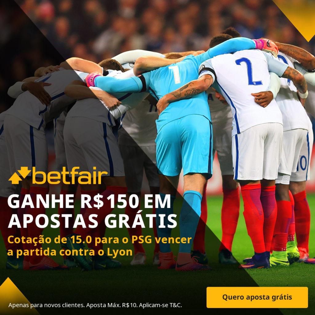 Betfair Super Preço - PSG x Lyon