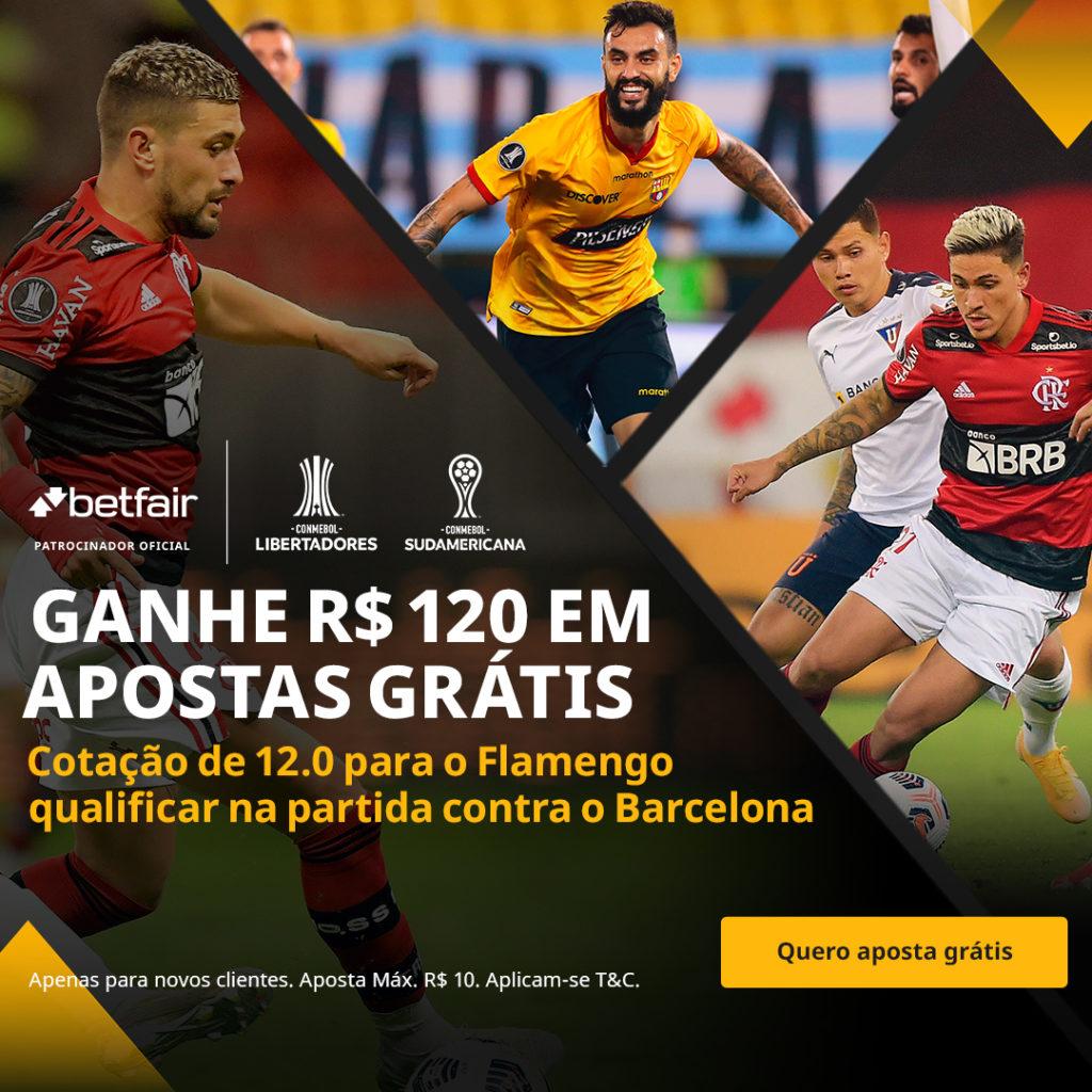 Betfair Super Preço - Flamengo x Barcelona de Guayaquil