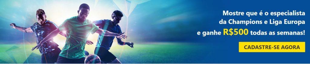 Dafabet Brasil - promoção Champions League e Liga Europa