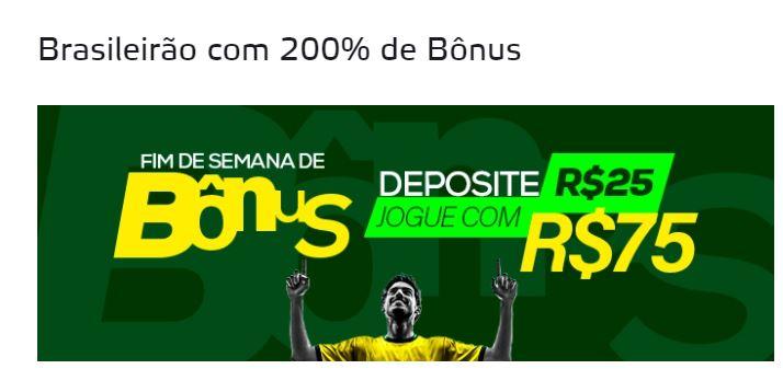 Betmotion Brasil - bônus 200% até R$50 no Brasileirão