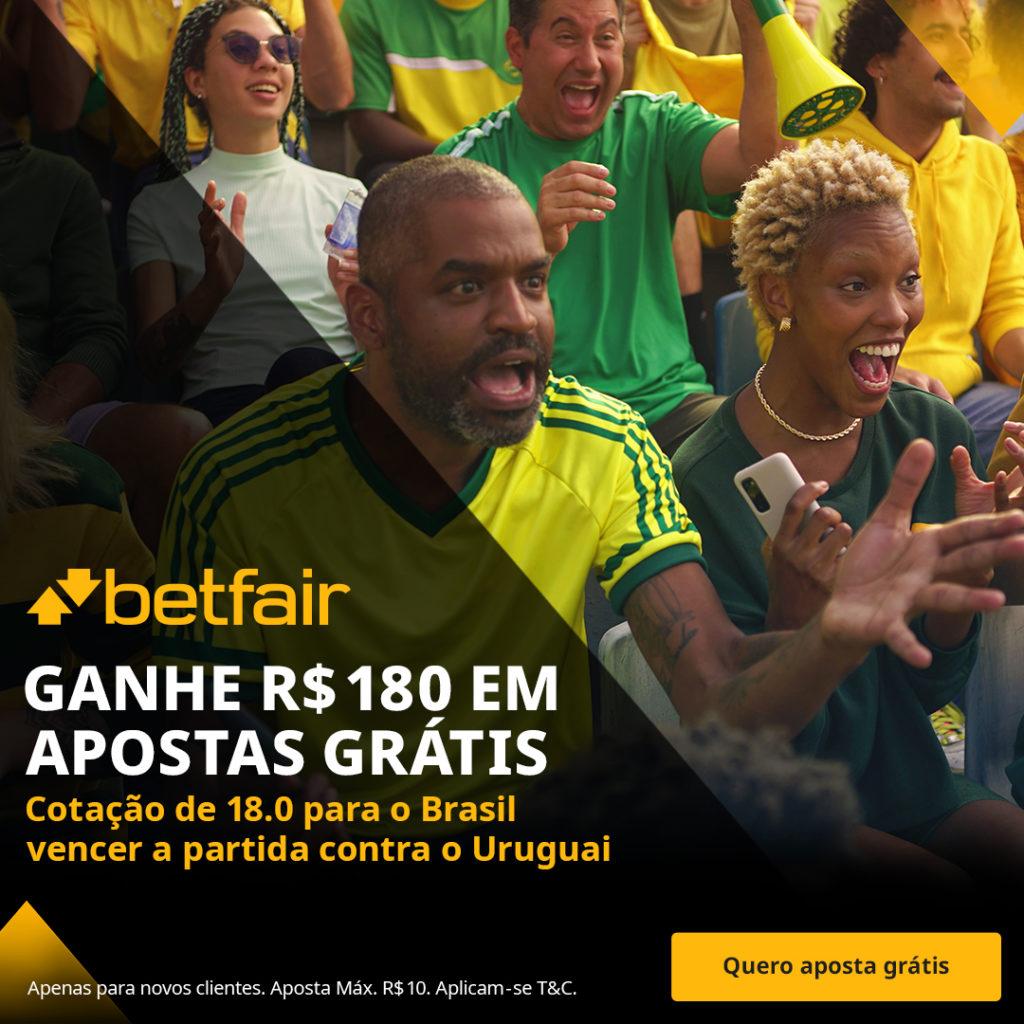 Betfair Super Preço - Brasil x Uruguai