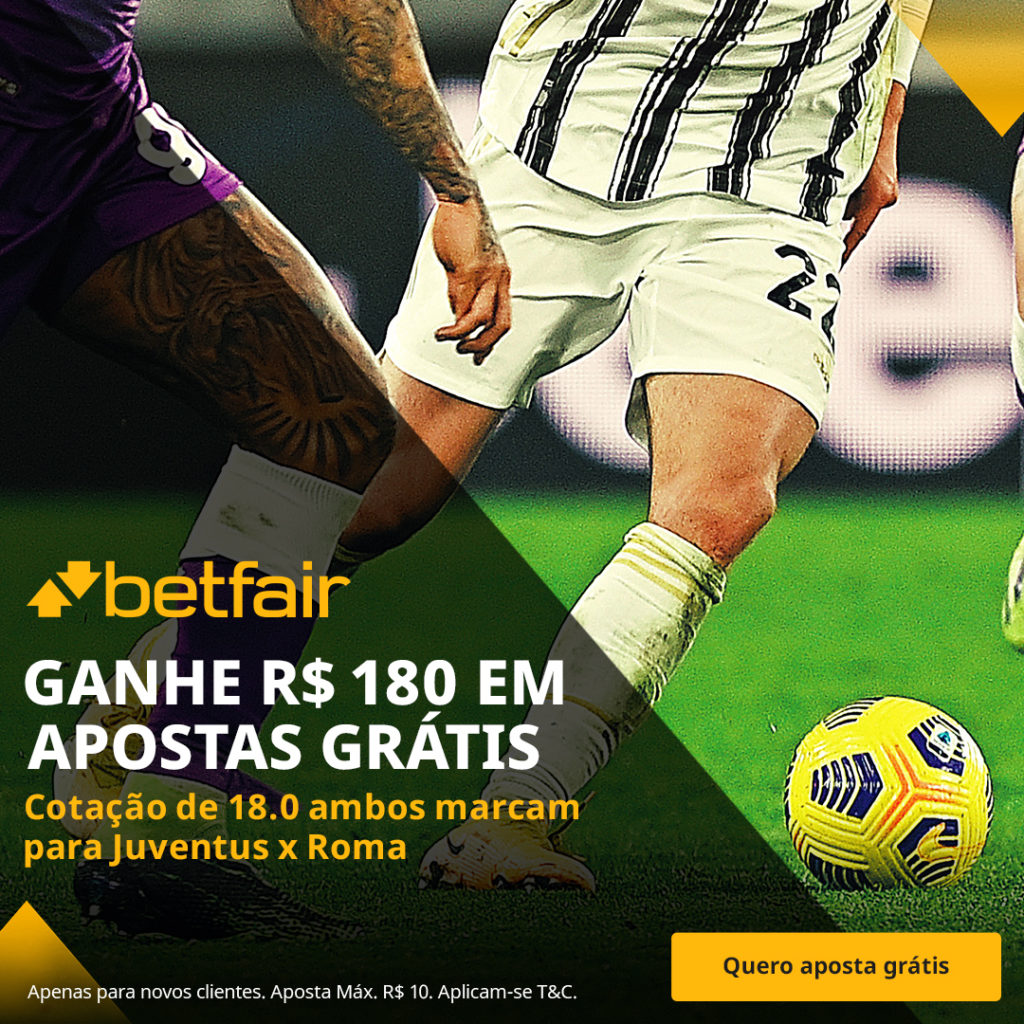 Betfair Super Preço - Juventus x Roma