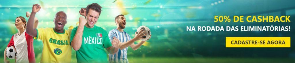 Dafabet Brasil - cashback eliminatórias Copa 2022